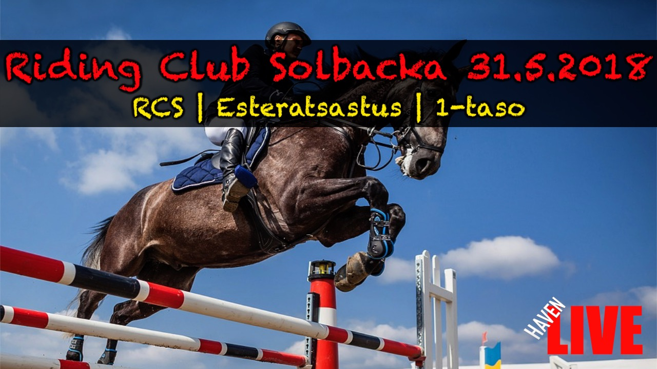 Read more about the article Riding Club Solbacka 31.5.2018