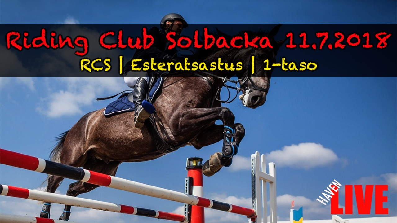 Read more about the article Riding Club Solbacka 11.7.2018
