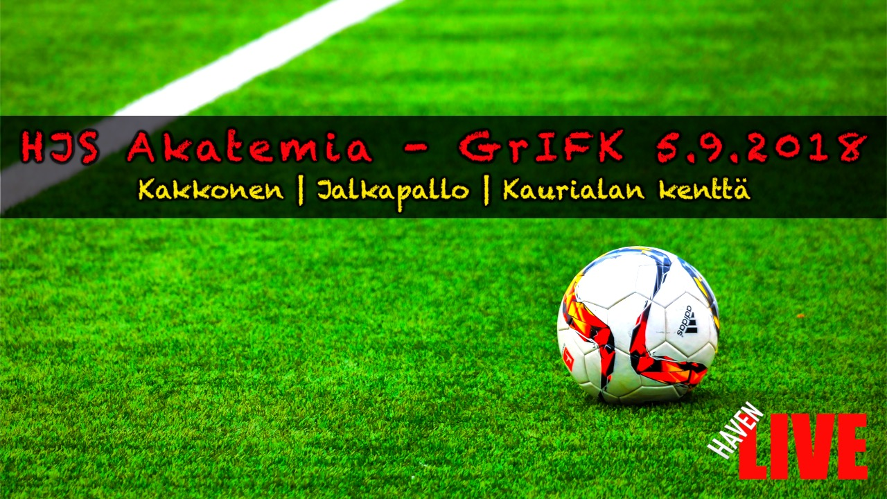 Read more about the article HJS Akatemia – GrIFK 5.9.2018